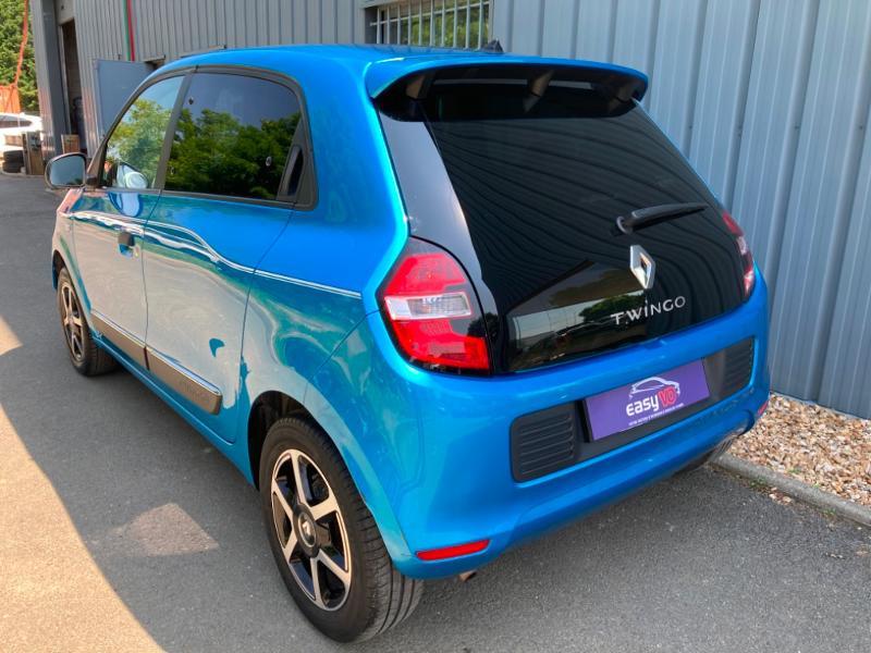 Renault Twingo 1.0 SCe 70ch Intens Boîte Courte Euro6 Bleu occasion à Saint-Doulchard - photo n°6