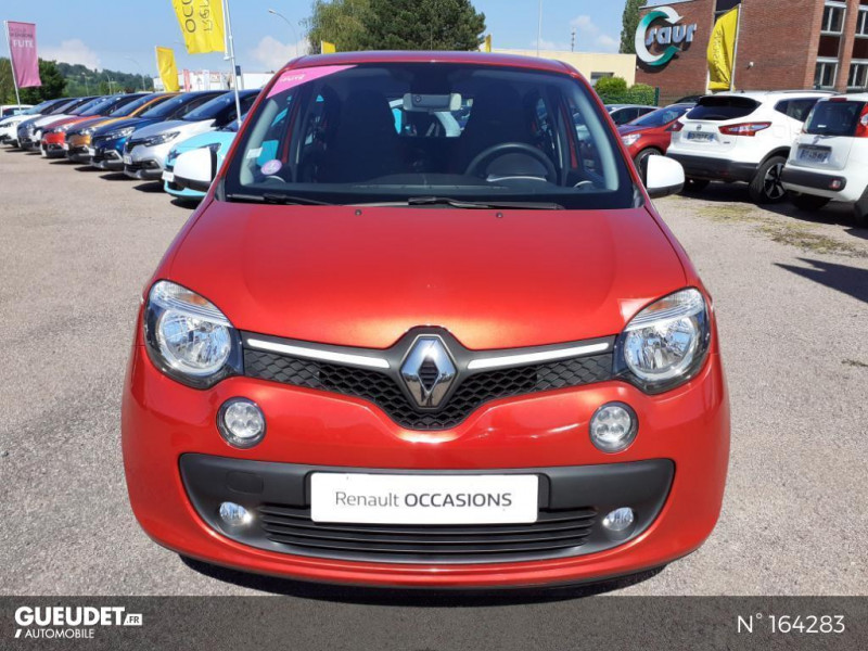 Renault Twingo 1.0 SCe 70ch Intens Rouge occasion à Deauville - photo n°2