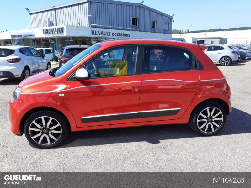 Renault Twingo 1.0 SCe 70ch Intens Rouge occasion à Deauville - photo n°8