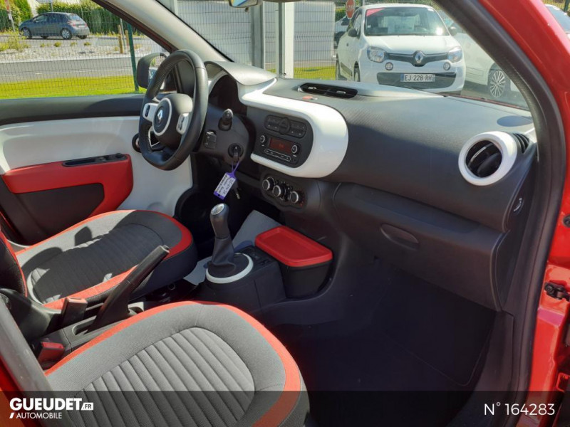 Renault Twingo 1.0 SCe 70ch Intens Rouge occasion à Deauville - photo n°4