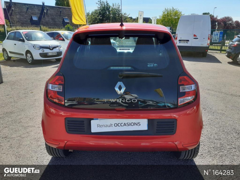 Renault Twingo 1.0 SCe 70ch Intens Rouge occasion à Deauville - photo n°3