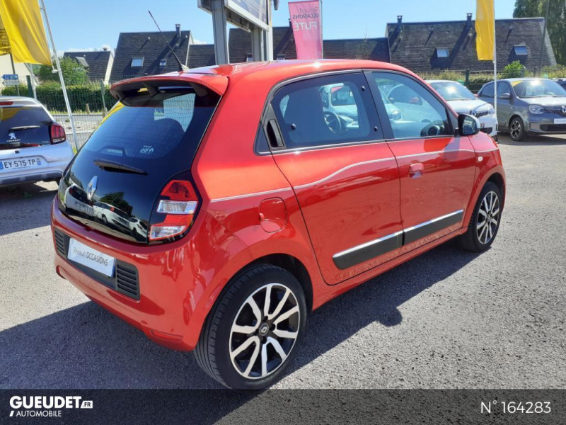 Renault Twingo 1.0 SCe 70ch Intens Rouge occasion à Deauville - photo n°6