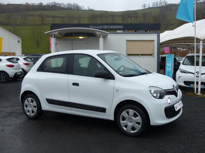 Renault Twingo 1.0 SCe 70ch Life 2 Boîte Courte Euro6 Blanc occasion à Albi - photo n°3