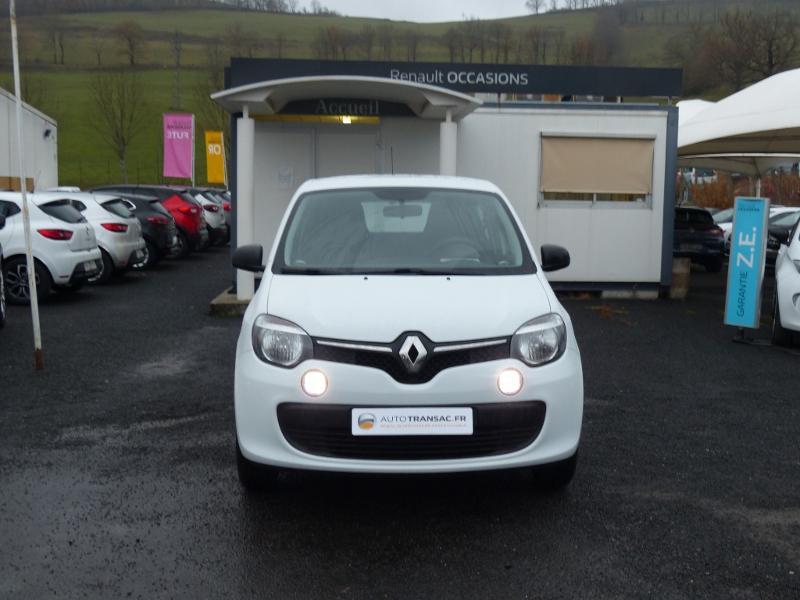 Renault Twingo 1.0 SCe 70ch Life 2 Boîte Courte Euro6 Blanc occasion à Albi - photo n°2