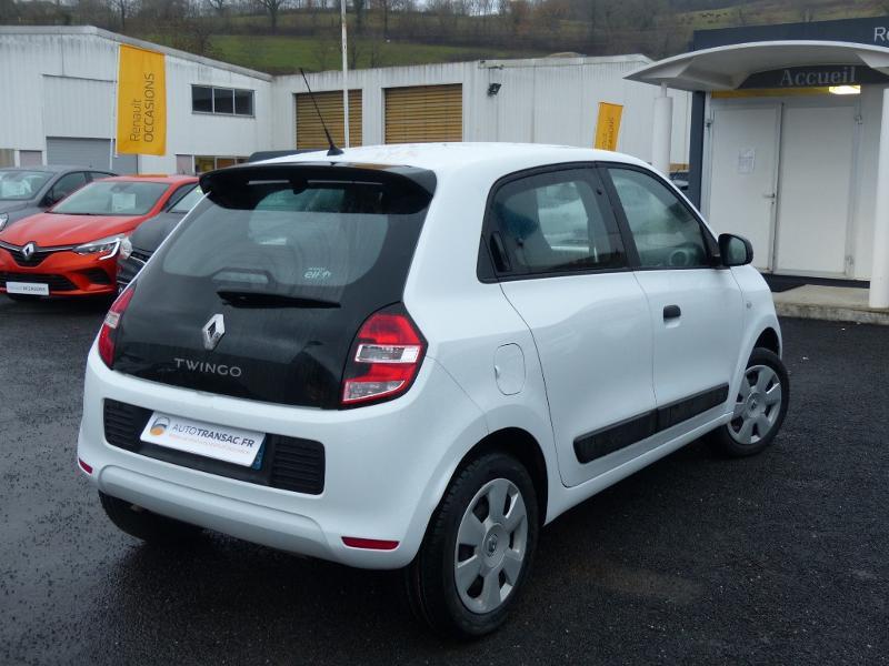 Renault Twingo 1.0 SCe 70ch Life 2 Boîte Courte Euro6 Blanc occasion à Albi - photo n°8