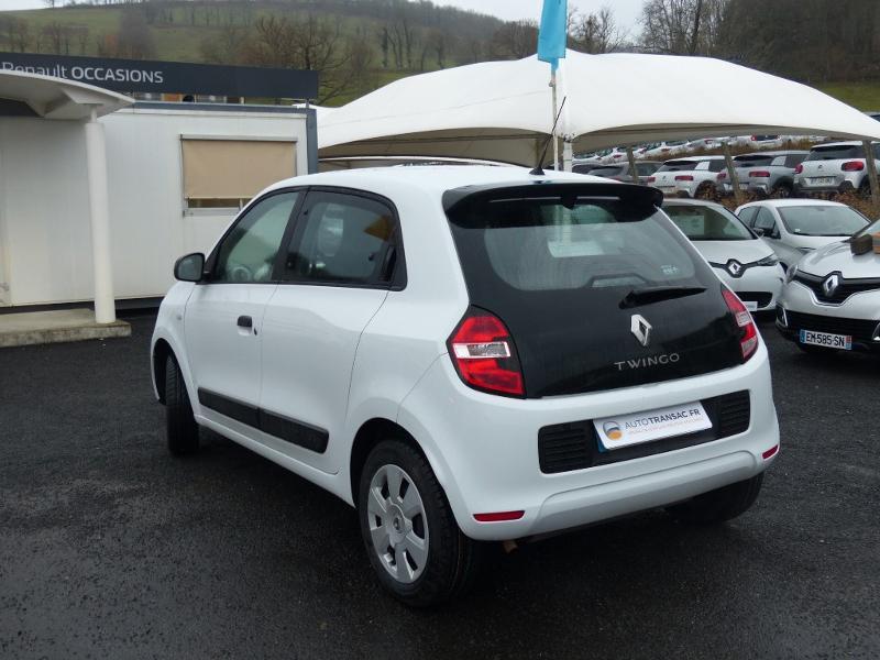 Renault Twingo 1.0 SCe 70ch Life 2 Boîte Courte Euro6 Blanc occasion à Albi - photo n°7
