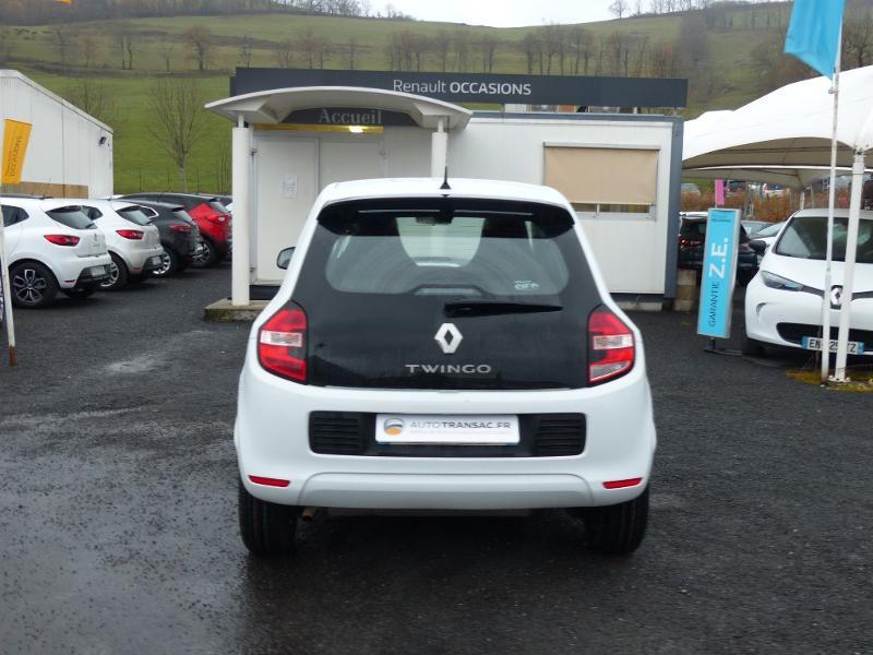 Renault Twingo 1.0 SCe 70ch Life 2 Boîte Courte Euro6 Blanc occasion à Albi - photo n°5