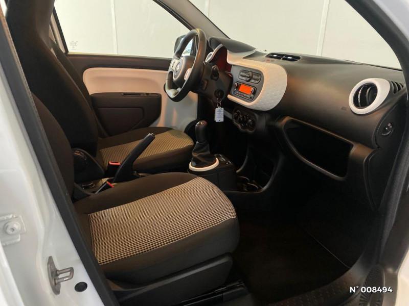 Renault Twingo 1.0 SCe 70ch Life Euro6c Blanc occasion à Bonneville - photo n°4