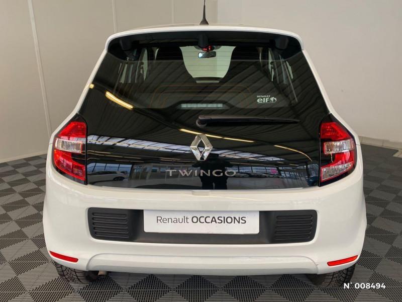 Renault Twingo 1.0 SCe 70ch Life Euro6c Blanc occasion à Bonneville - photo n°3
