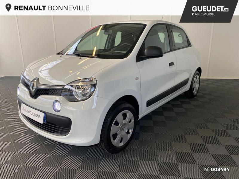 Renault Twingo 1.0 SCe 70ch Life Euro6c Blanc occasion à Bonneville