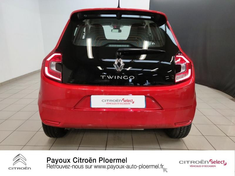 Renault Twingo 1.0 SCe 70ch Limited Euro6c Rouge occasion à PLOERMEL - photo n°5