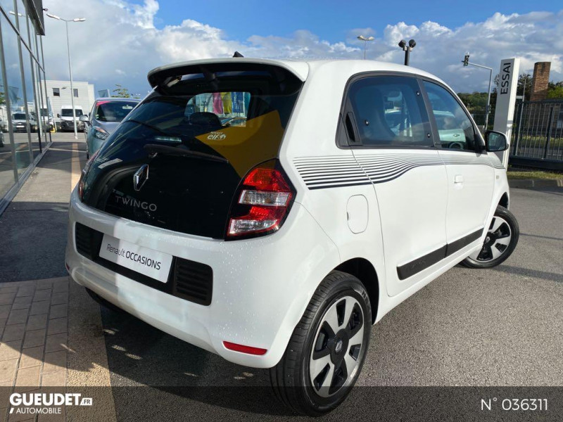 Renault Twingo 1.0 SCe 70ch Limited Euro6c Blanc occasion à Dieppe - photo n°6