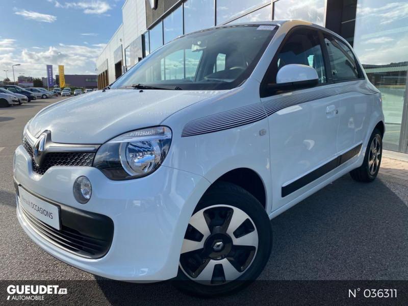 Renault Twingo 1.0 SCe 70ch Limited Euro6c Blanc occasion à Dieppe