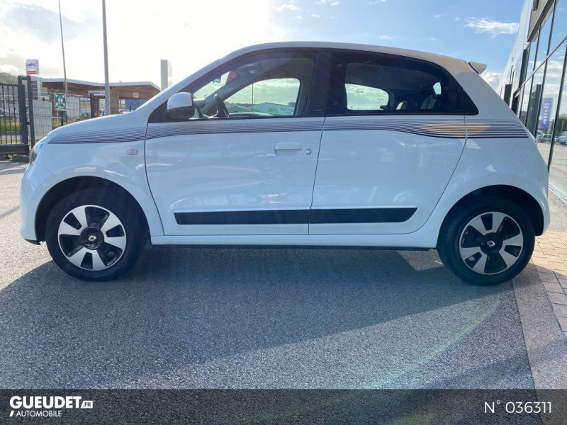 Renault Twingo 1.0 SCe 70ch Limited Euro6c Blanc occasion à Dieppe - photo n°8