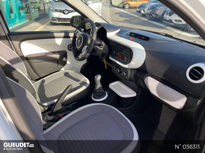 Renault Twingo 1.0 SCe 70ch Limited Euro6c Blanc occasion à Dieppe - photo n°4