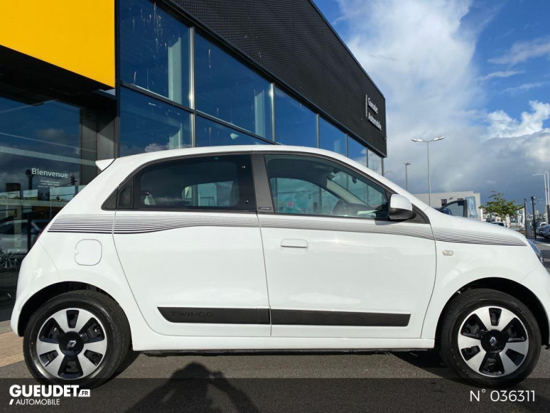 Renault Twingo 1.0 SCe 70ch Limited Euro6c Blanc occasion à Dieppe - photo n°7