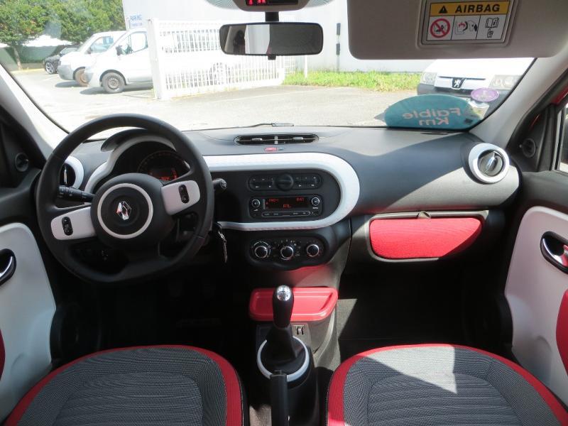 Renault Twingo 1.0 SCe 70ch Stop&Start Limited 2017 eco² Rouge occasion à La Roche-sur-Yon - photo n°7
