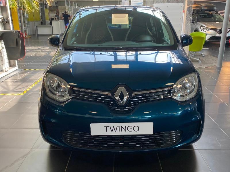 Renault Twingo 1.0 SCe 75ch Signature Bleu occasion à Rodez - photo n°2