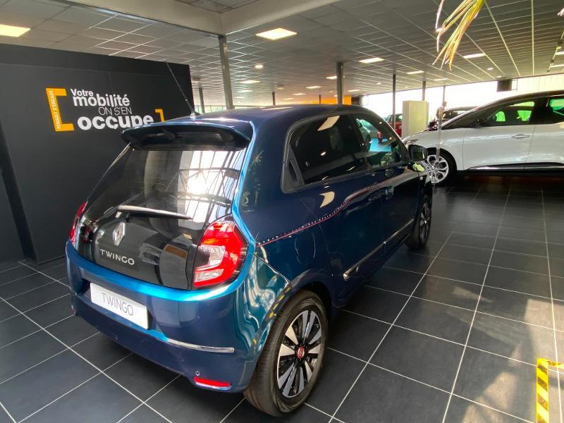 Renault Twingo 1.0 SCe 75ch Signature Bleu occasion à Rodez - photo n°5