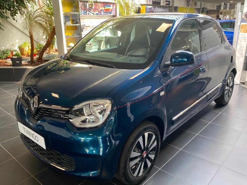 Renault Twingo 1.0 SCe 75ch Signature Bleu occasion à Rodez - photo n°3