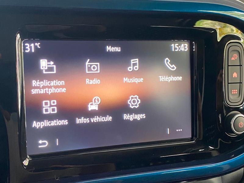 Renault Twingo 1.0 SCe 75ch Signature Bleu occasion à Rodez - photo n°16