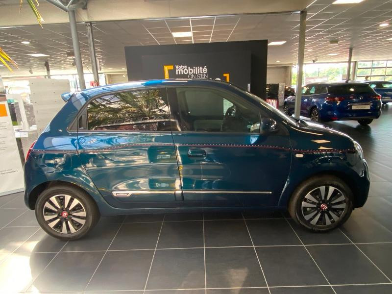 Renault Twingo 1.0 SCe 75ch Signature Bleu occasion à Rodez - photo n°4