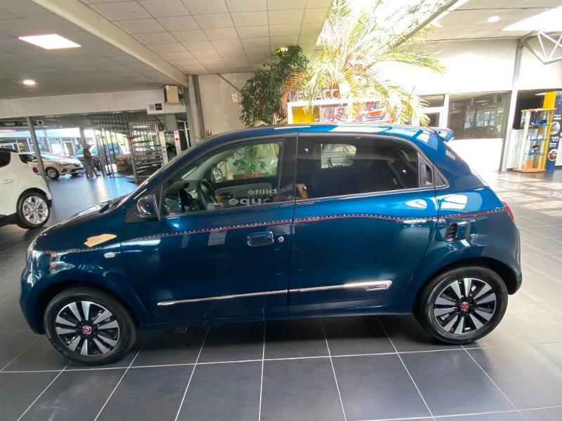 Renault Twingo 1.0 SCe 75ch Signature Bleu occasion à Rodez - photo n°8