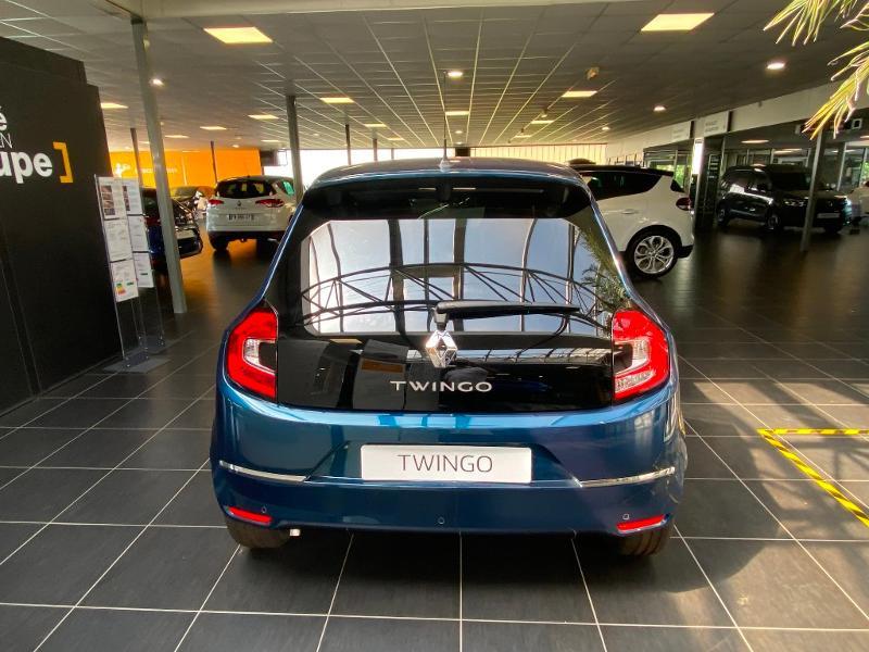 Renault Twingo 1.0 SCe 75ch Signature Bleu occasion à Rodez - photo n°6