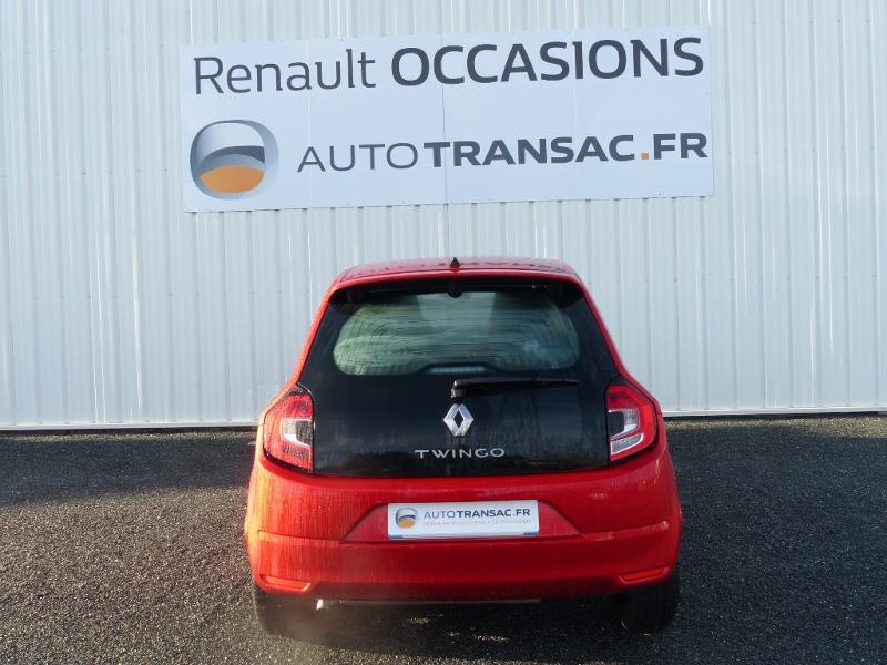 Renault Twingo 1.0 SCe 75ch Zen - 20 Rouge occasion à Figeac - photo n°5