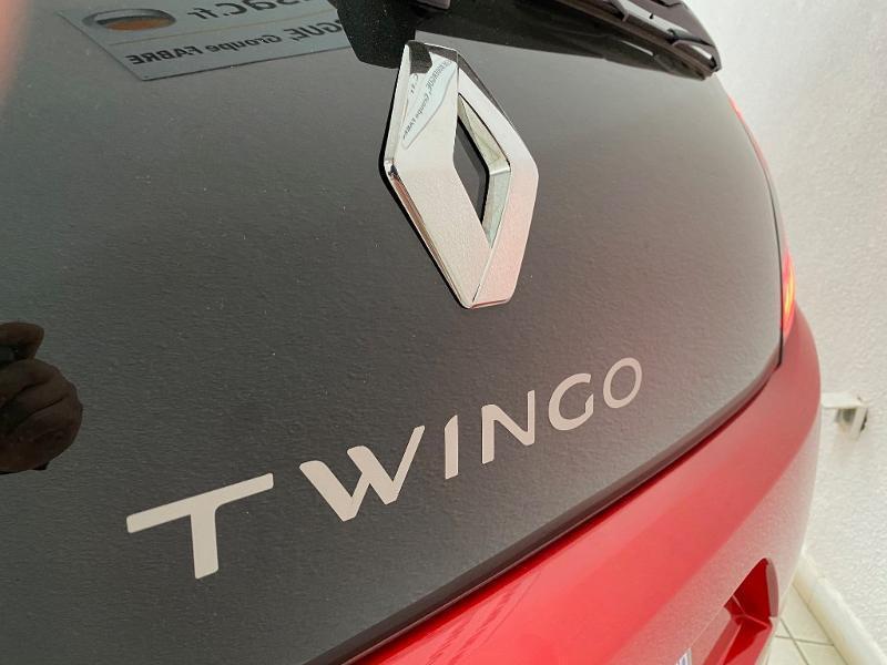 Renault Twingo 1.0 SCe 75ch Zen Rouge occasion à Villefranche-de-Rouergue - photo n°20