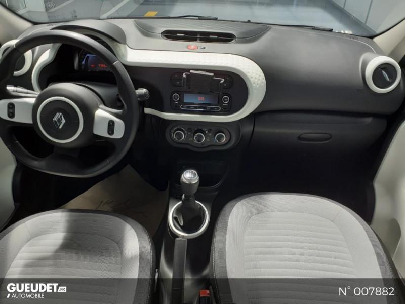 Renault Twingo 1.0 SCe 75ch Zen Blanc occasion à Saint-Just - photo n°10