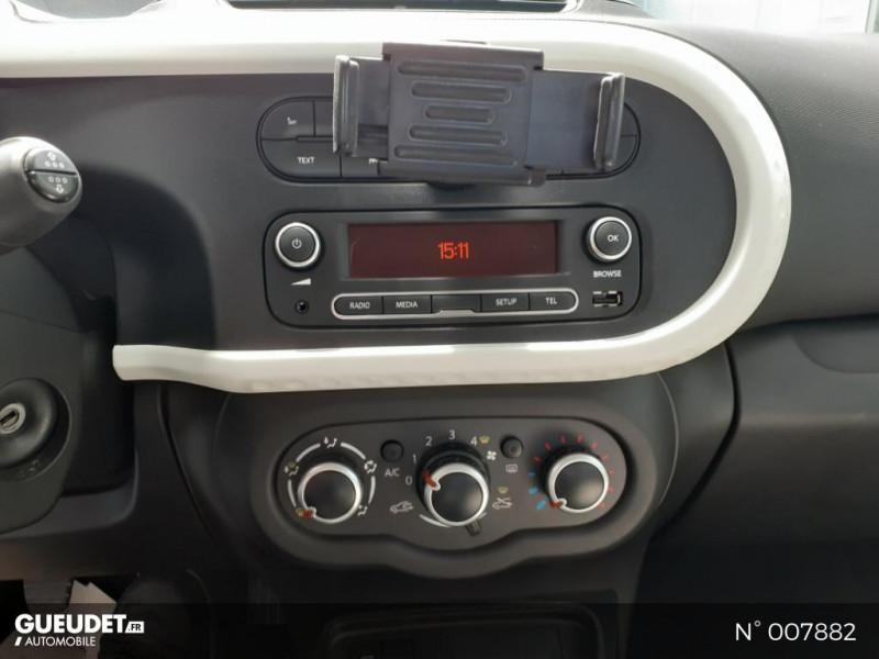 Renault Twingo 1.0 SCe 75ch Zen Blanc occasion à Saint-Just - photo n°11