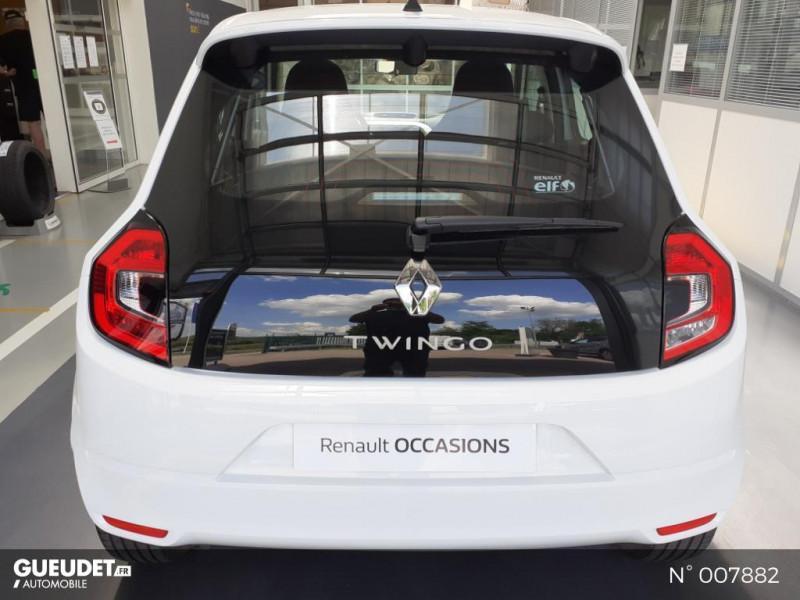 Renault Twingo 1.0 SCe 75ch Zen Blanc occasion à Saint-Just - photo n°3