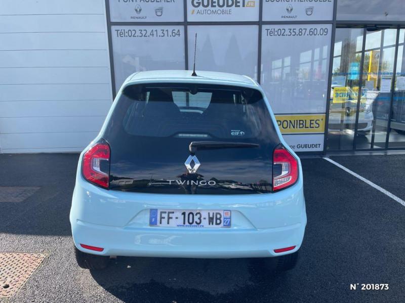 Renault Twingo 1.0 SCe 75ch Zen Bleu occasion à Pont-Audemer - photo n°3