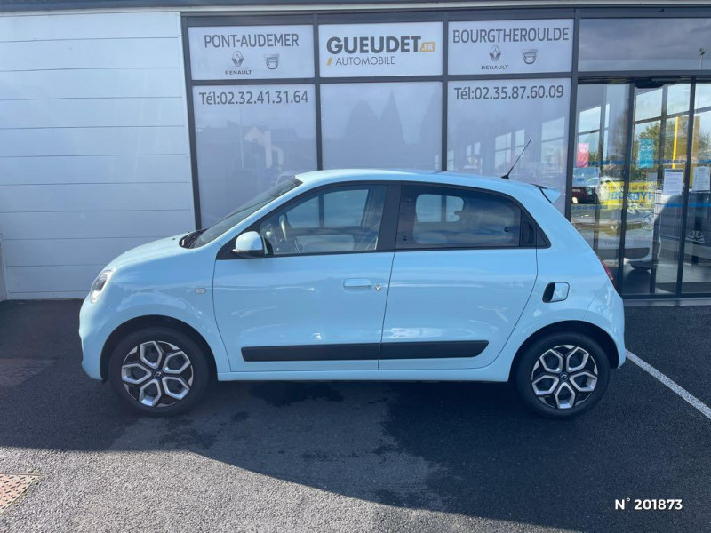 Renault Twingo 1.0 SCe 75ch Zen Bleu occasion à Pont-Audemer - photo n°8