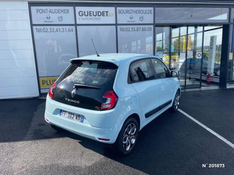 Renault Twingo 1.0 SCe 75ch Zen Bleu occasion à Pont-Audemer - photo n°6