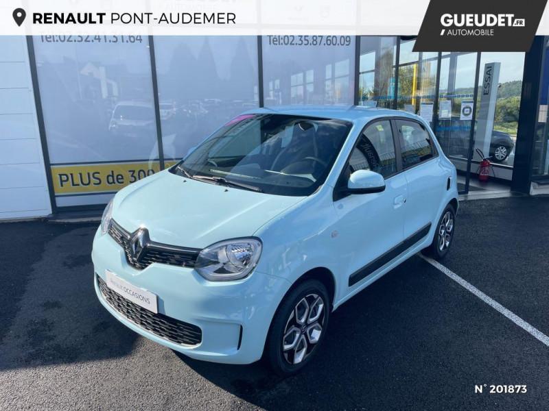 Renault Twingo 1.0 SCe 75ch Zen Bleu occasion à Pont-Audemer