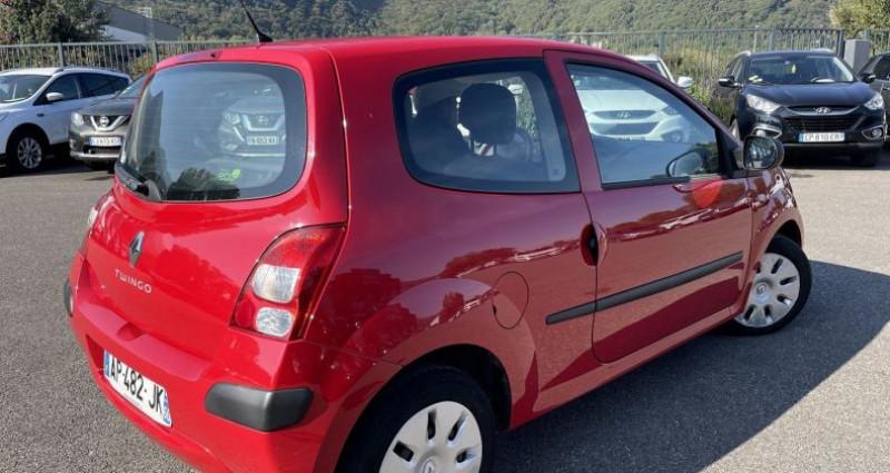Renault Twingo 1.5 DCI 65CH AUTHENTIQUE Rouge occasion à VOREPPE - photo n°2