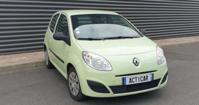 Renault Twingo 2 1.2 60 authentique bv5 o Vert occasion à FONTENAY SUR EURE - photo n°2