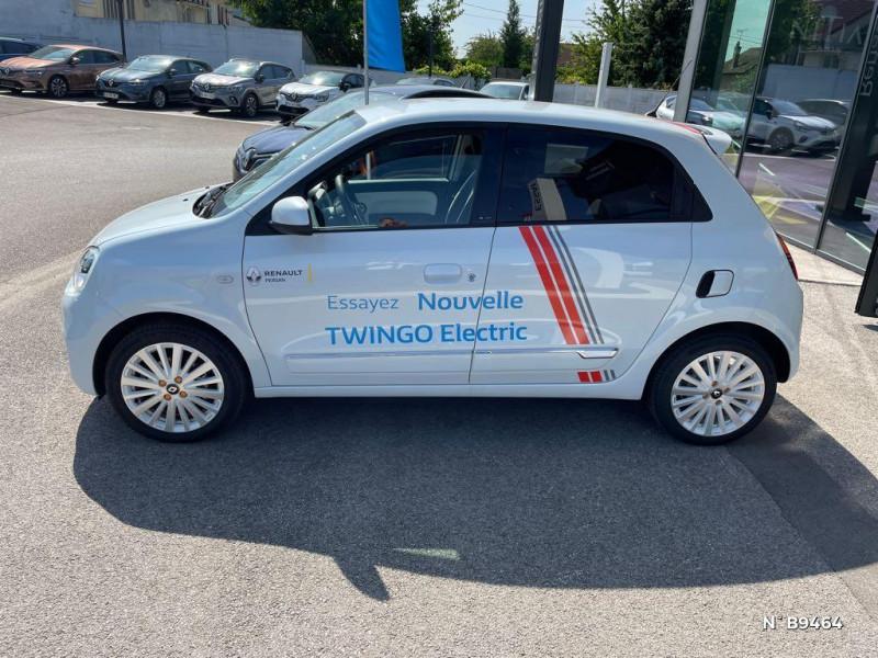 Renault Twingo E-Tech Electric Vibes R80 Achat Intégral - 21 Blanc occasion à Persan - photo n°8