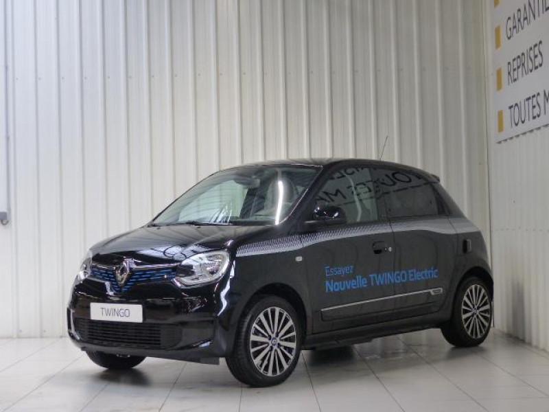 Renault Twingo E-Tech électrique Intens - Achat Intégral Noir occasion à MORLAIX
