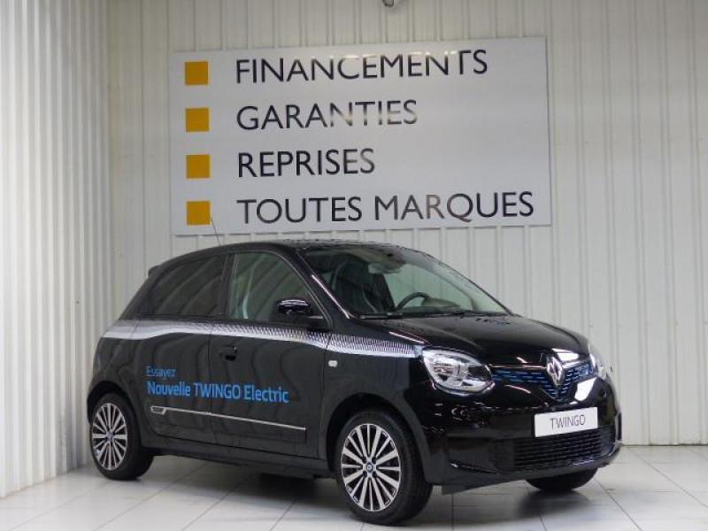 Renault Twingo E-Tech électrique Intens - Achat Intégral Noir occasion à MORLAIX - photo n°2