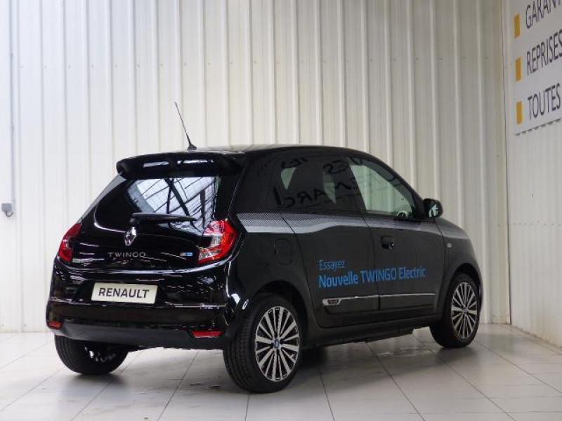 Renault Twingo E-Tech électrique Intens - Achat Intégral Noir occasion à MORLAIX - photo n°4