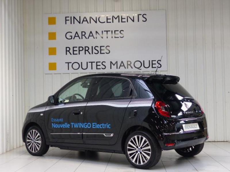Renault Twingo E-Tech électrique Intens - Achat Intégral Noir occasion à MORLAIX - photo n°3