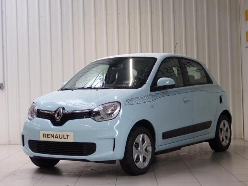 Renault Twingo E-Tech électrique Zen - Achat Intégral Bleu occasion à MORLAIX