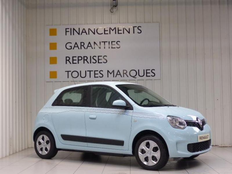 Renault Twingo E-Tech électrique Zen - Achat Intégral Bleu occasion à MORLAIX - photo n°2
