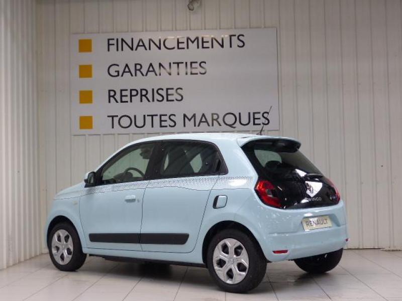 Renault Twingo E-Tech électrique Zen - Achat Intégral Bleu occasion à MORLAIX - photo n°3