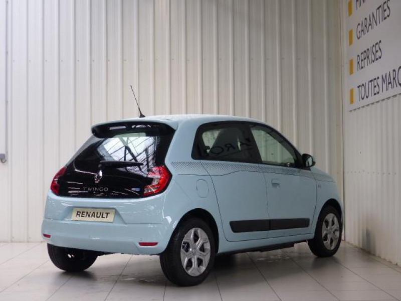 Renault Twingo E-Tech électrique Zen - Achat Intégral Bleu occasion à MORLAIX - photo n°4