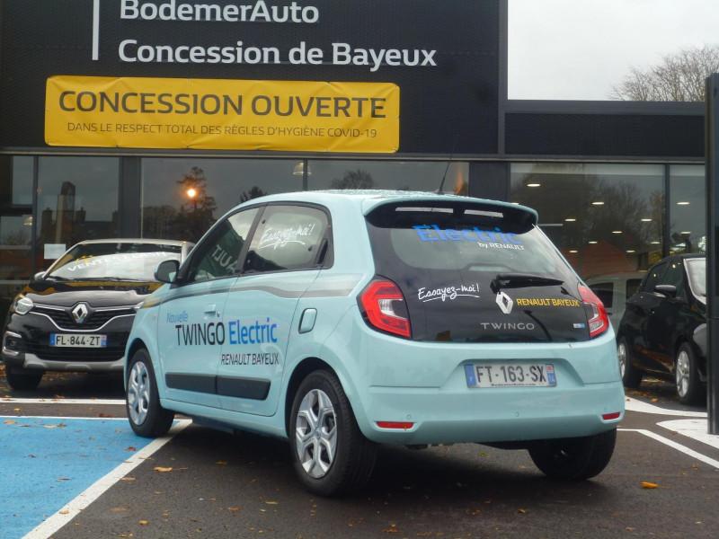 Renault Twingo Electric Zen R80 Achat Intégral Bleu occasion à BAYEUX - photo n°4