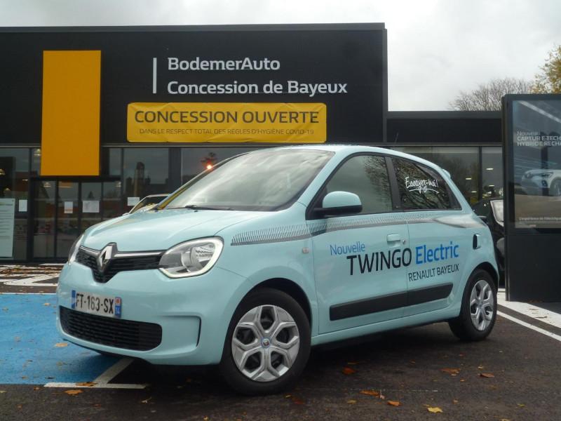 Renault Twingo Electric Zen R80 Achat Intégral Bleu occasion à BAYEUX